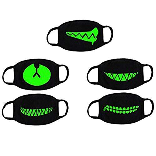 VORCOOL Unisex algodón Anti Polvo Cara Boca máscara