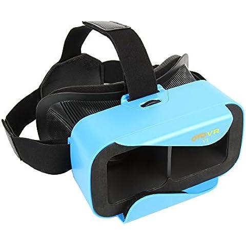OYOVR Y3 Gafas 3D VR Realidad Virtual con Ajustable Lente y Correa WEINAS® Universal 3D VR para Vídeos Películas 3D / Juegos para 4.7-6.0 Pulgadas Teléfono Inteligente(Android / iOS, etc.) OYOVR Y3