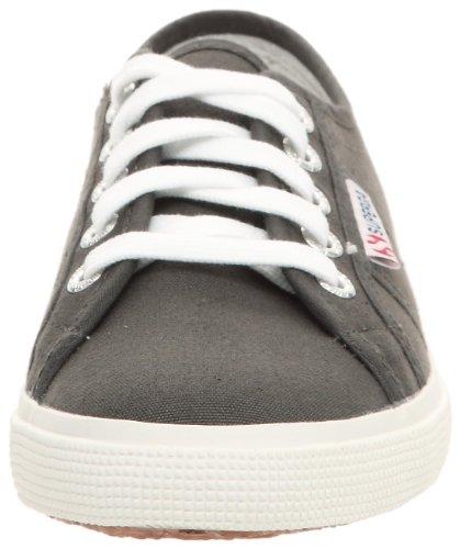 Superga 2950 COTU S003IG0, Unisex - Erwachsene Sneaker Grau (Dunkelgrau)