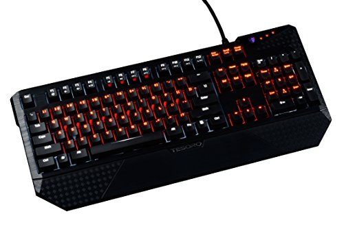 Programmierbare Lichtsteuerung (Tesoro Durandal Ultimate eSports version Mechanical Gaming Keyboard with Cherry Red and Black Switches)