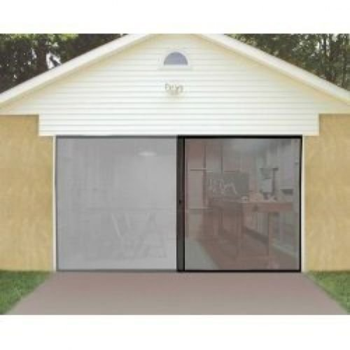1-car-single-garage-door-screen-7-x-8-bug-insect-pest-black-tv-easy-entry-new-by-united-states