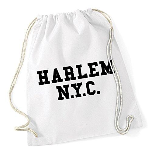Harlem NYC Gymsack White Certified Freak