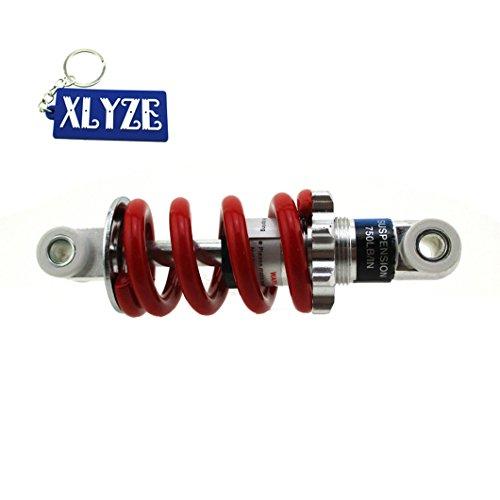 xlyze 125mm 750LBS Dämpfung Federung Feder für 2-Takt-33cc 43cc 47cc 49cc Pocket Dirt Bike Pocket Bike Kinder ATV Go Ped Scooter