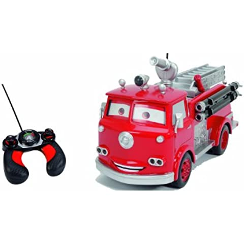 Cars - Red Fire engine, coche radiocontrol, multicolor (Majorette 3089549)