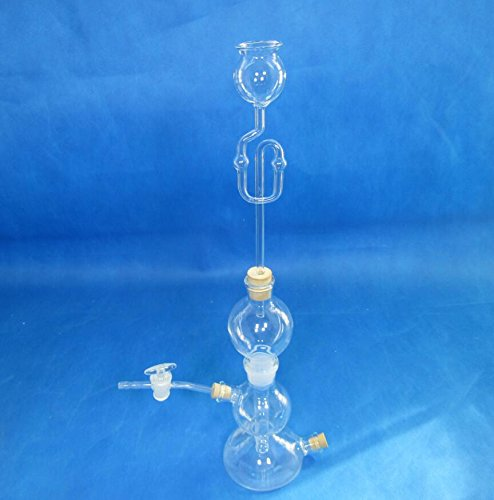 Kipp\'s Apparatus Chemie Laborausrüstung, Glasware, 125 ml