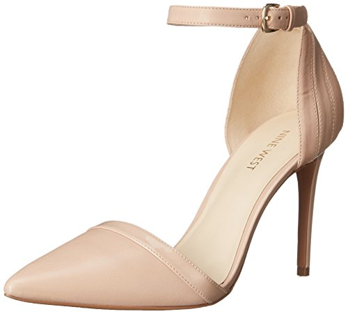 Nine West Timesharing-Kleid aus Leder Pump Lht Pink