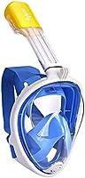 Flyboo Máscara de Snorkel,180° Vista Máscara de Buceo con diseño panorámico de Cara Completa Cámara Deportiva Compatible...