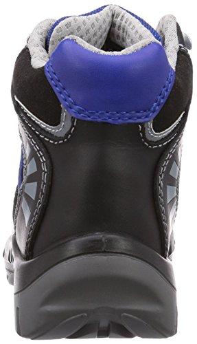 Wortec - Scarpe antinfortunistiche Alex S3, Unisex - adulto Nero (Schwarz (schwarz/blau))