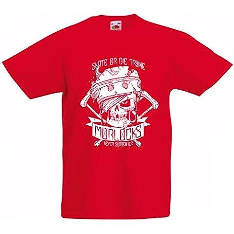 N4605K T-shirt per bambini Skate or Die Trying