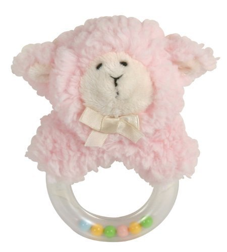 stephan-baby-sherpa-plush-woolly-lamb-ring-rattle-pink-by-stephan-baby