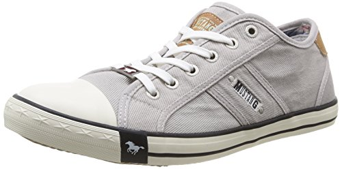 Mustang 4058305, Baskets mode homme Gris (22 Hell Grau)