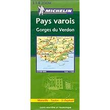 Carte routière : Pays Varois - Marseille, Toulon, St-Raphaël, N°11114