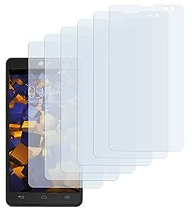 6 x mumbi Schutzfolie LG Optimus L9 II Folie Displayschutzfolie