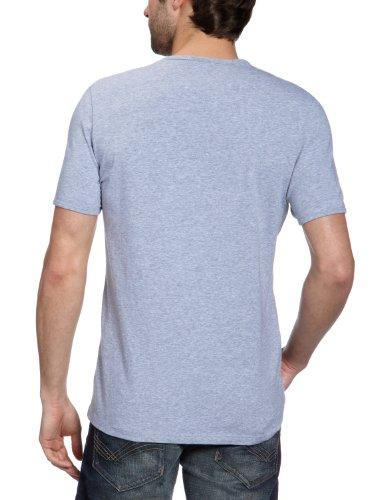 FILA Herren T-Shirt 146176 Herren T-Shirt Cotton Stretch Grau (grau 026)