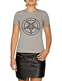 Jergley Pentacle T-Shirt Gris Femmes   Women s Grey T-Shirt 38d7472a52d