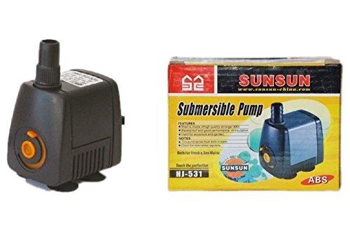 Pompa Sun Sun HJ-531 - Sistema a immersione per il riciclo dell'acqua