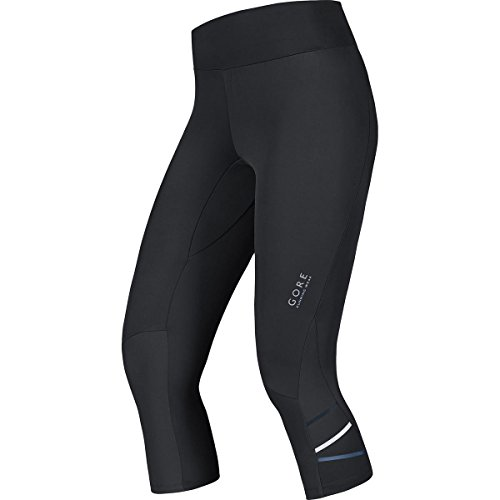 Gore Running Wear Mythos - Malla pirata para mujer, color negro, talla M