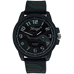Jamicy® Muge Personalized Mens Camouflage Strap Sports Mens Watches