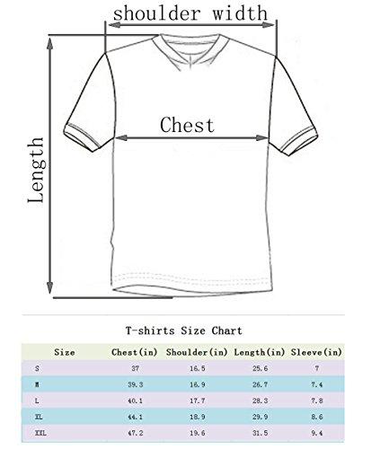 Leapparel Herren Cool Entworfen 3D Druck V-Ausschnitt Kurzarm T-Shirts Tees Tops Galaxy Space2