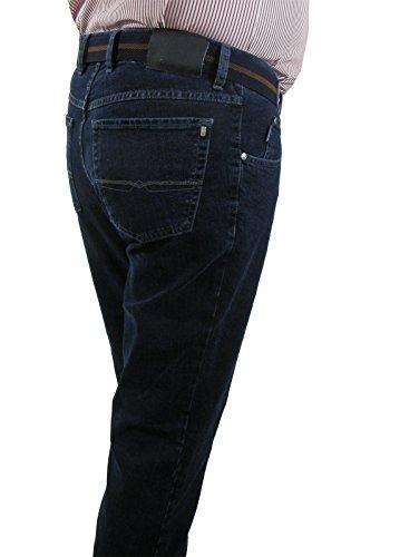 Pionnier jean élastique au niveau du ventre-taille 40 Bleu - blue stone washed (161)