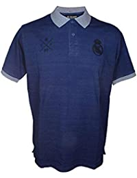 Real Madrid FC Polo Oficial Azul Marino Gris 574d8f874d19d
