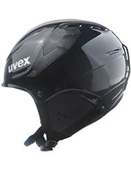 UVEX p1us Rent M=55-59cm Skihelm, Black, 55-59 cm