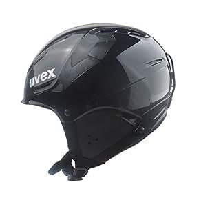Uvex Skihelm p1us rent, black, S=52-55cm
