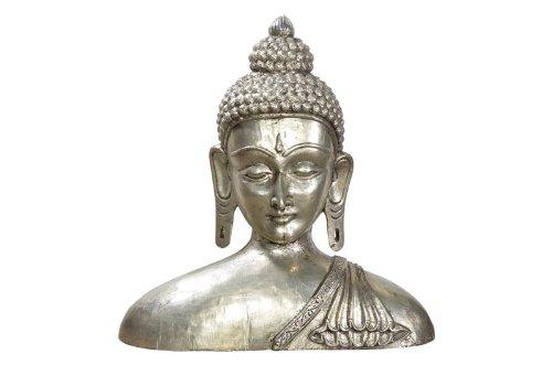 Grand Bouddha bueste Gravité auszus chliess Extrémités ueberhartholzkern