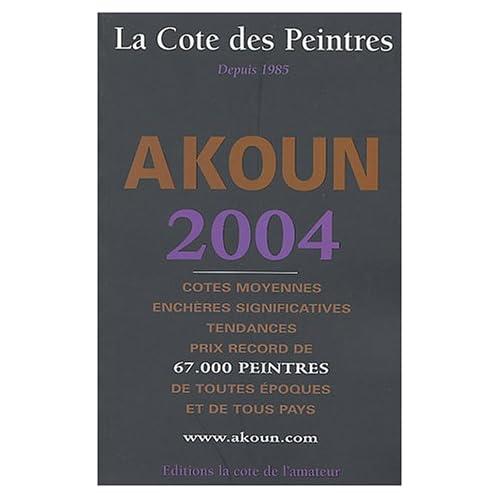 La Cote des peintres 2004