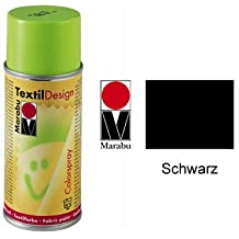 Marabu Textil Design Colorspray, 150ml, Schwarz