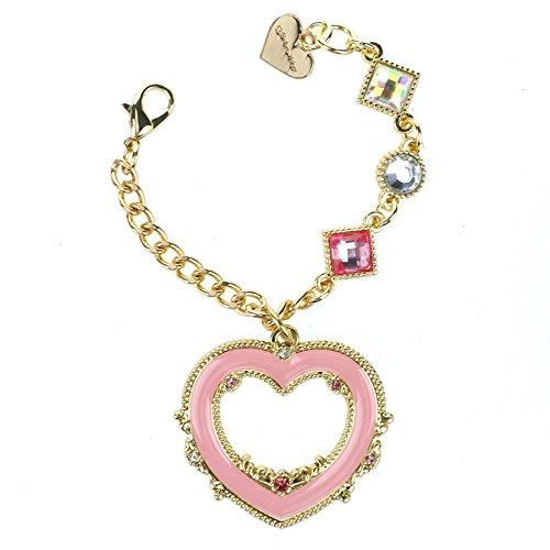 CoolChange goldfarbenes Sailor Moon Kettchen mit großem Herz ()