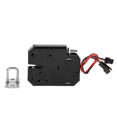 Électro-aimant Magnétique de Serrure de Tiroir du Cabinet 12V DC Fail-Safe pour le Système de Contrôle d'accès de Porte (avec l'interrupteur de détection) (A)