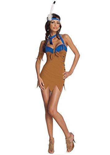 LLY Halloween-Kostüm Indianerstämme Prinzessin Rolle Spielen Uniform Versuchung