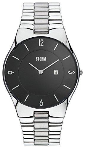Storm pour homme Exclusive fin Cadran noir montre