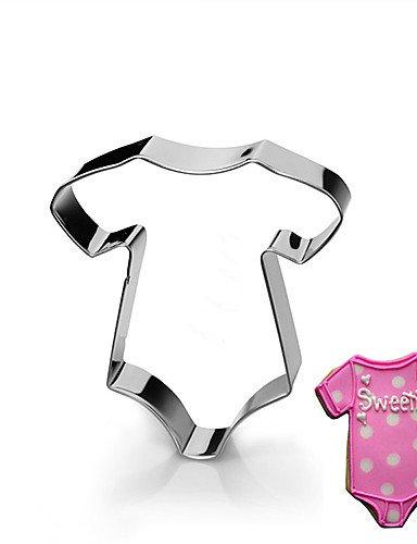 HJLKP stampi abbigliamento forma ponticello formine per biscotti frutta taglio del bambino in acciaio inox