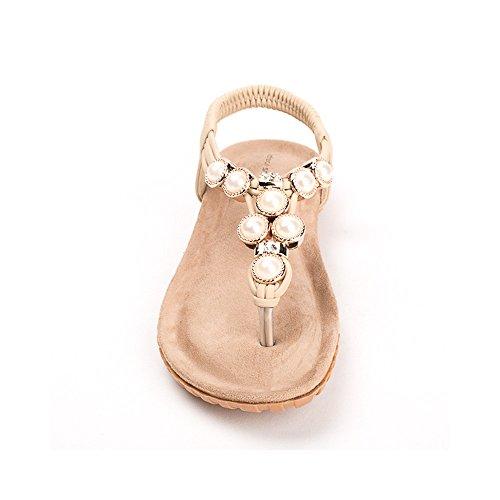 Ideal Shoes ,  Sandali donna Beige