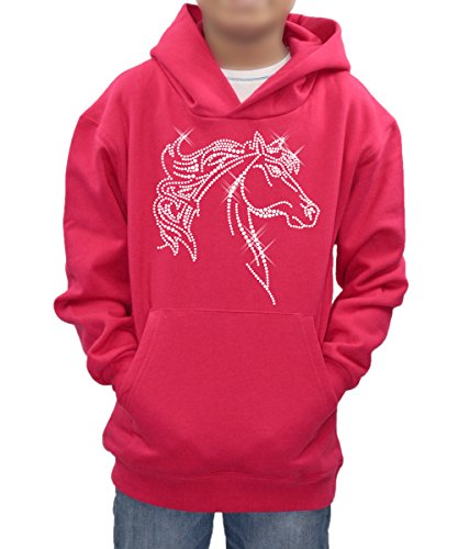personalised-diamante-half-horse-hoodie-custom-name-of-your-choice-in-sparkly-rhinestones-children-s