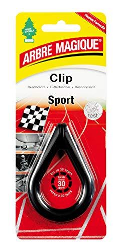 TAVOLA_ Arbre Magique Clip, Deodorante Auto Posizionabile Ovunque, Profumazione Prolungata (4 Pezzi) (Sport, 4 Pezzi)