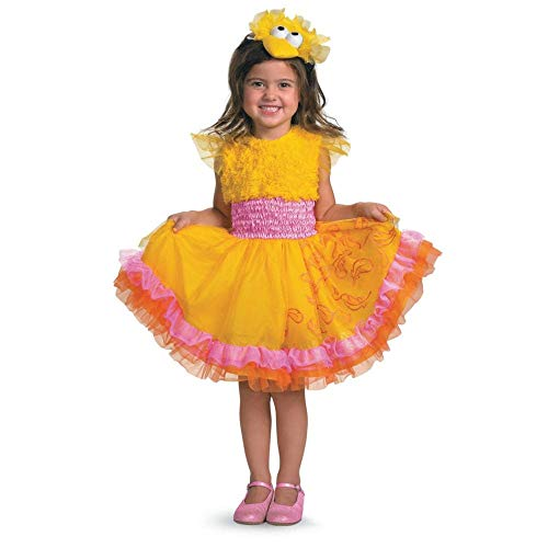(toddler(2t)) - Sesame Street Frilly Big Bird Halloween Costume - Toddler Size 2T