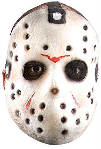 (Jason Maske Halloween Kostueme Maske Gesicht Maske Over-the-Head-Maske Kostuem Stuetze Scary Creepy Schreckliche Maske fuer Maskerade Make-up Party)