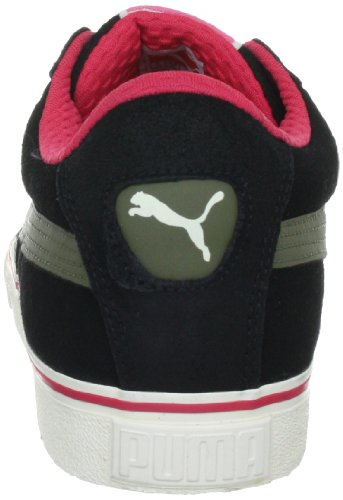 Puma Puma S Low City, baskets sportives homme Noir - Schwarz (black-burnt olive-teaberry 02)