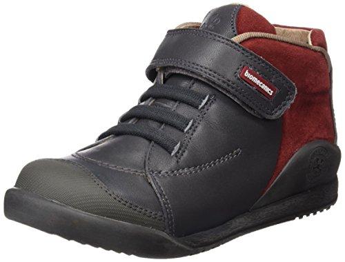 Biomecanics 161163, Chaussures Garçon gris - Antracita / Burdeos (Sauvage / Serraje)