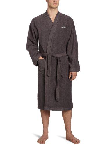 TOM TAILOR 100300/902/704 Kimono Bademantel, Gr. XL, dunkel grau