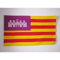 BANDERA de las ISLAS BALEARES 150x90cm - BANDERA BALEÁRICA 90 x 150 cm - AZ FLAG