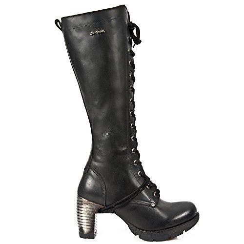 M.tr005-s1 - Stivali Donna Noir