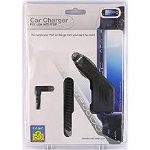 Logic3 PSP/PSP2 Car Adaptor Adaptador e inversor de Corriente Negro - Fuente de alimentación (Negro)