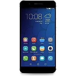 Honor 6 Plus Smartphone débloqué 4G (Ecran : 5.5 pouces Full HD - 32 Go - Double SIM - Android 4.4 KitKat) Noir