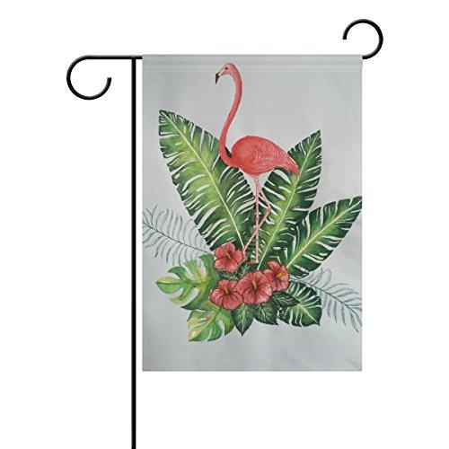 senwei Flamingos Spring Garden Flagge Garten Banner 30,5x 45,7cm/71,1x 101,6cm für Home Decor Yard Decor Doppelseitig 12 x 18 inches Mehrfarbig