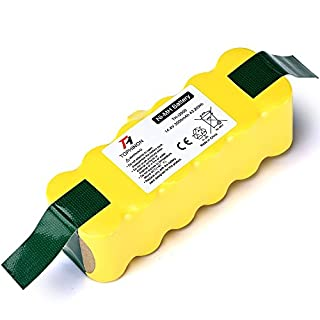 TOPHINON 3000mAh 14.4V Ni-MH Aspirateur Batterie pour iRobot Roomba 500 510 520 530 532 535 540 545 550 552 555 560 562 570 580 585 600 610 620 630 650 660 700 760 770 780 790 800 870 880