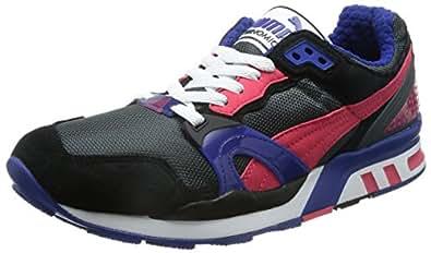 Puma Men's Puma Trinomic XT 2 PLUS Ds-Black-Teaberry Red-Mb Running Shoes - 10UK/India (44.5EU)